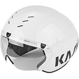 Kask Bambino Pro - Casque de vélo - visière incluse blanc